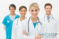 Doctors Treat Sleep Apnea Via the MD Home Sleeep Program
