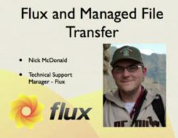 Nick McDonald, Flux Technical Support Manager