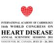 The International Academy of Cardiology, 16th World Congress on Heart Disease