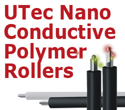 UTec Nano Conductive Polymer Rollers