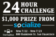 Socialize will offer $1000 to the winning team at the StartupBus Hackathon if they implement Socialize in their app.