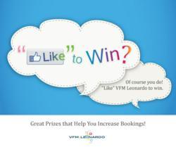 Like VFM Leonardo on Facebook to Win