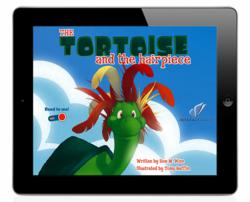 Toirtoise and the Hairpiece interactive book for iPhone on InteractBooks App