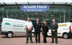 Go Green & Arnold Clark Rental National Carhire Partership