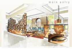Rendering of San Juan Resort's new lobby.