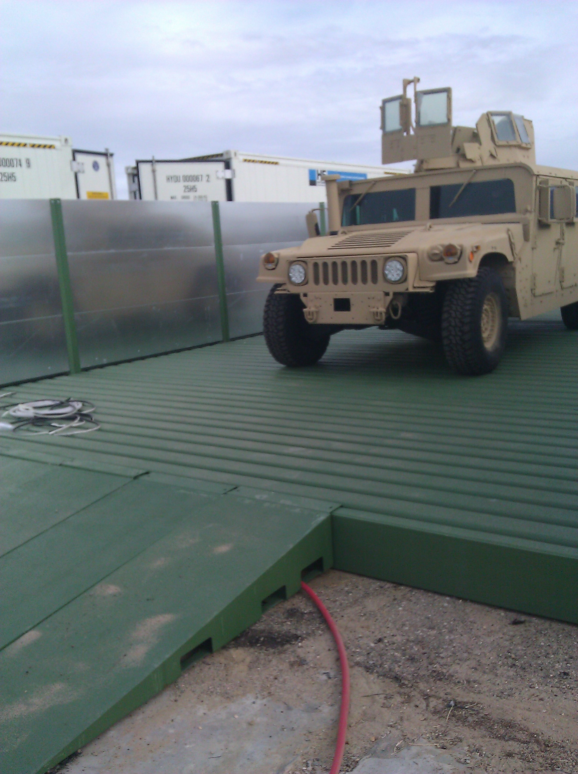 Hydro Engineering Inc Installs Multiple Above Ground Wash Rack Systems For The US Marines