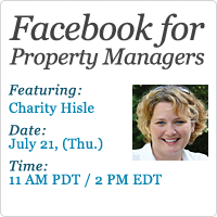 Property management software provides complimentary webinar for property managers.