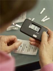 Diabetes measurer