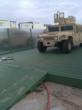 close up Humvee