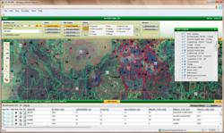 Enterprise GIS Forestry Land Management Application