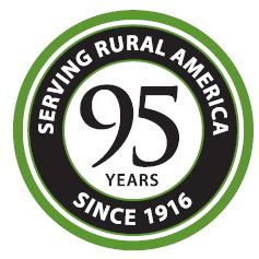 Farm Credit 95th Anniversary Logo