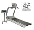 Gait Trainer 3--only treadmill with instrument deck monitoring and recording step length, step speed and right to left time distribution. Able to go forward and backwards with incline and decline positions.