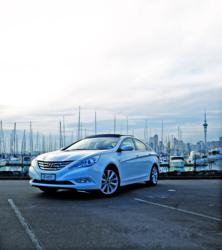 Hyundai i45 Named Best Mid Size Car in Customer Satisfaction Survey