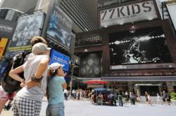 77kids by American Eagle Digital Billboard in Times Square