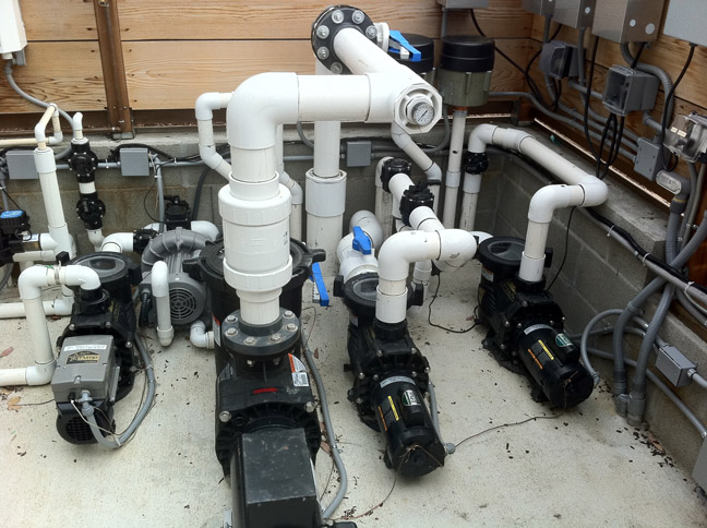 Pool Equipment Plumbing : Acoustifence and quietfiber combination recently