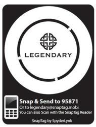 2D mobile barcode QR code Comic Con