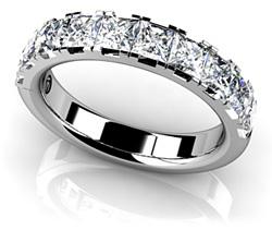 Four Prong Princess Cut Diamond Ring STYLE # SR36