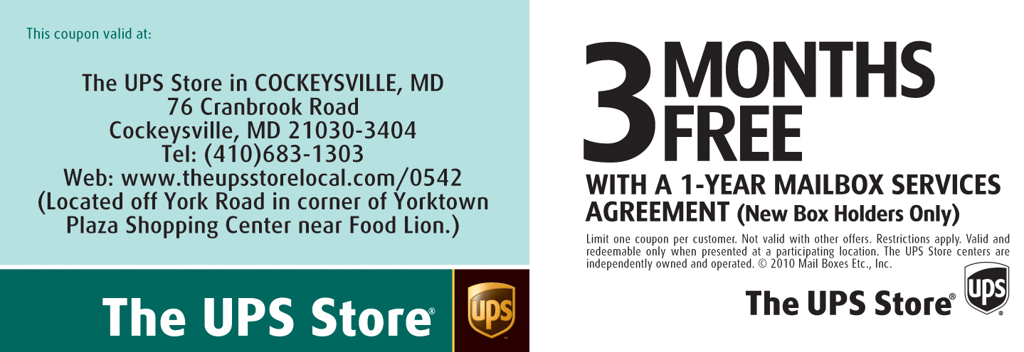ups store mailbox rental coupon 1
