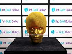 1stGoldBullion.com Justin Bieber Picture $1m Gold Bullion Head