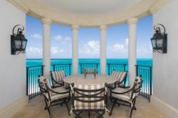 Balcony in the Turks & Caicos