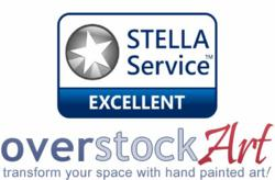 overstockArt.com Joins a Prestigious List of Leading Web Retailers  to be Awarded with the STELLA Service Seal.