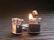 YOU Light My Fire Working Lighter Cufflinks