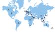 Senetas GlobalCare Map