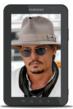 Johnny Depp - Samsung Galaxy Tab