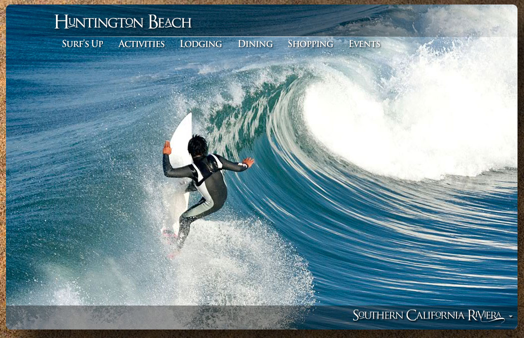 New website launched to promote travel and tourism to dana for Surf fishing southern california