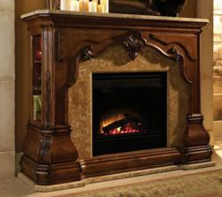 AICO Tuscano 34220F-26 Electric Fireplace Mantel