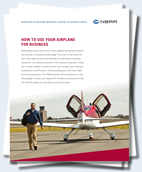 NBAA Use Your Plane for Business White Paper