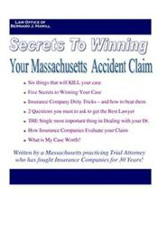 Personal Injury Massachusetts