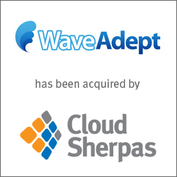 WaveAdept has been acquired by Cloud Sherpas