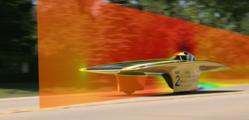 PowerFLOW Solar car aerodynamic simulation