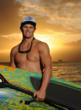 Molokai-2-Oahu Paddleboard World Championship Scott Gamble