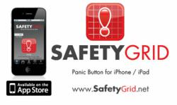 SafetyGrid Panic Button for iPHone and iPad