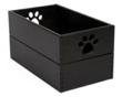 Black Pet Toy Box