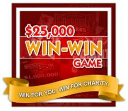 SCA Promotions' 25th Anniversary $25,000 Win-Win Game on the Facebook Platform
