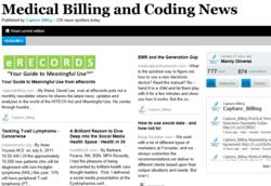 Capture Billing Publishes New Online Newspaper, the Medical Billing and Coding News
