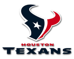 Image of Houston Texans logo: Ranked #1 Online Brand by Heardable.com