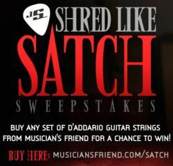 Shred Like Satch Sweepstakes!