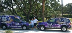 Jeff Burrows and Nicole Burrows Spring Hill Florida Geniemobile