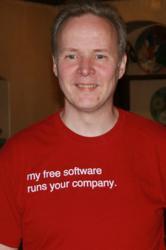 Michael Widenius, CEO Monty Program Ab, MariaDB developer, MySQL creator