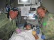 Passion 4 K.I.D.S. founders, Charles & Linda Van Kessler visit Baby Izaiah at Children's Hospital.