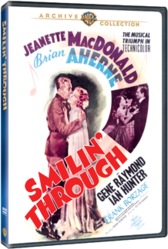 Smilin' Through starring Jeanette MacDonald with another exclusive DVD release from the MGM library