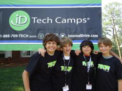 Game design camps for kids and teens