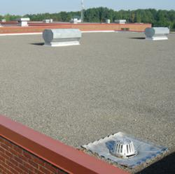 StressPly Environmental Roofing Membranes offer high strength while using recycled materials