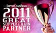 SupplyChainBrain Top 100 Great Supply Chain Partner - WOW Logistics