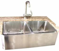 Sheffield 16-Gauge Stailnless Steel Sinks and Kitchen Faucets