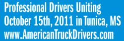 Truck Drivers Uniting October 15th in Tunica, MS